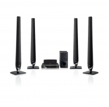 Home Theatre LG HT806TH, 850 W, USB